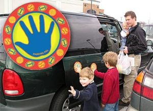 Parking Pal Car Magnets For Kids