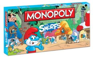 Smurfs Monopoly Board Game
