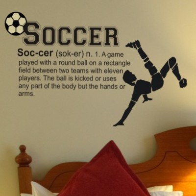 soccer definition wall decal groovy kids gear soccer wall decal football wall sticker south africa
