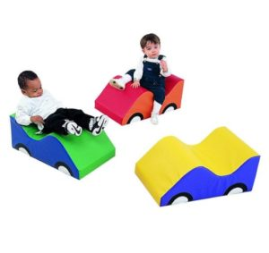 Soft Toddler Car - Set of 3