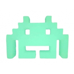Space Invaders Glow In The Dark Shelf Decor