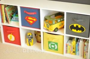 Super Cool Super Hero Storage!