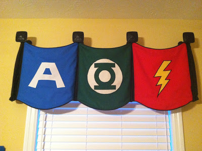Super Hero Valance 2