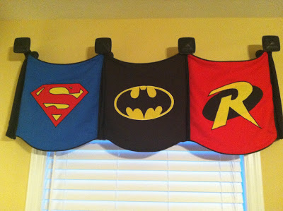 Super Hero Valance