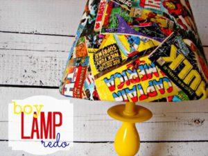 Superhero Kids DIY Lamp