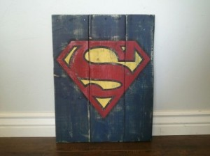 Superman Custom Art