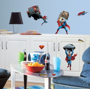 Superman Decals