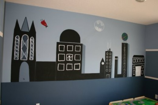 Awesome DIY Super Hero Room Ideas