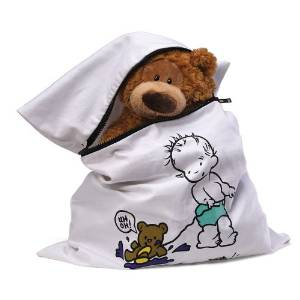Teddy Needs a Bath Laundry Bag