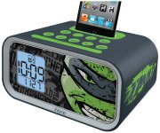 Teenage Mutant Ninja Turtles Dual Alarm Clock Speaker System