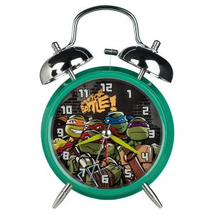 Teenage Mutant Ninja Turtles Twin Bell Alarm Clock