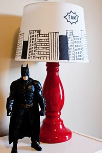 Trick out a Lamp Shade!