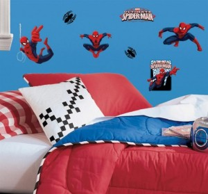 Ultimate Spiderman Wall Decals