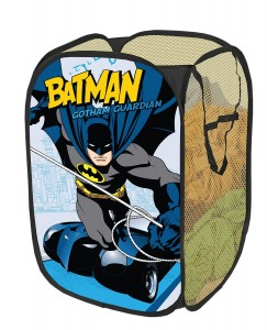 Batman bedroom decor archives groovy kids gear - Superhero laundry hamper ...