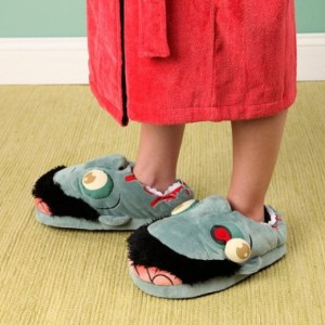 Zombie Slippers for Teens