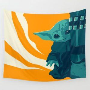 The Child by Matt Kehler Wall Tapestry