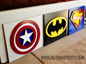 Superhero Kids Room Decor